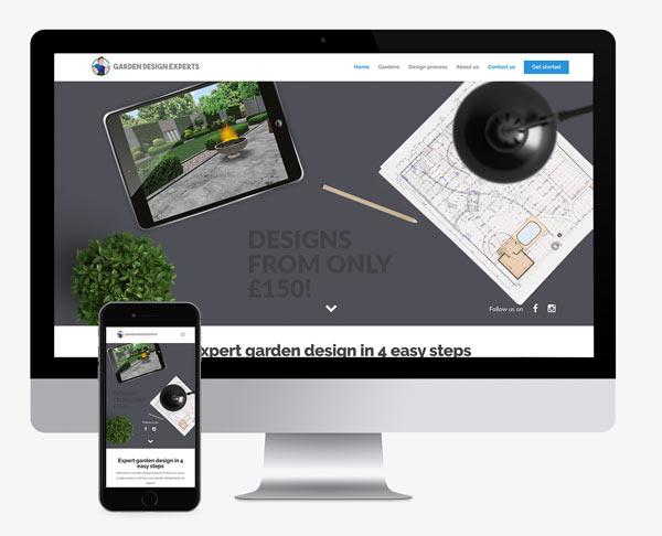 Garden Experts Web design