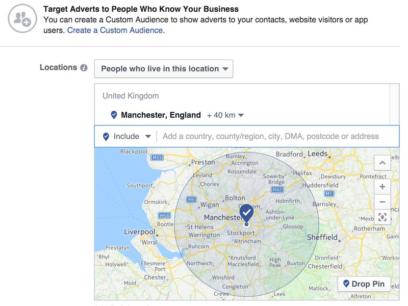 Facebook digital marketing manchester
