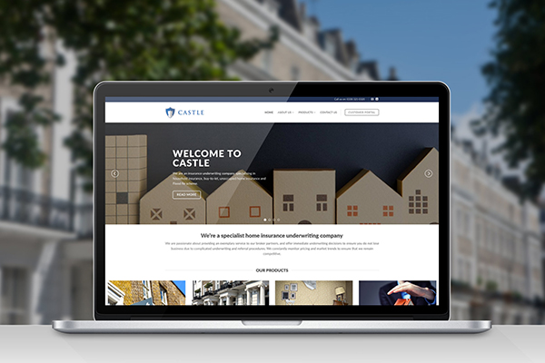 Insurance web design case study