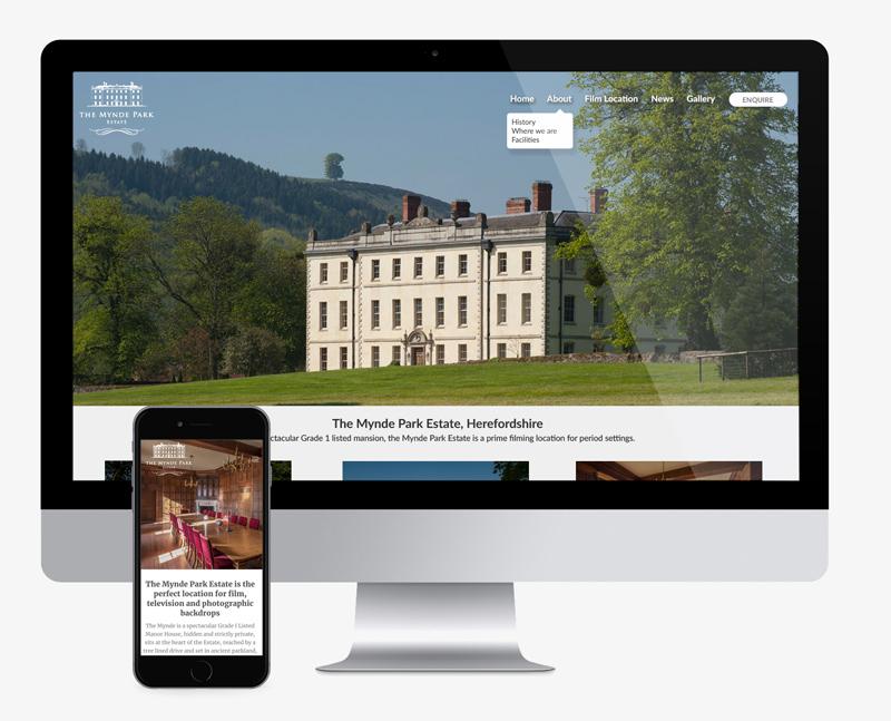film location web design