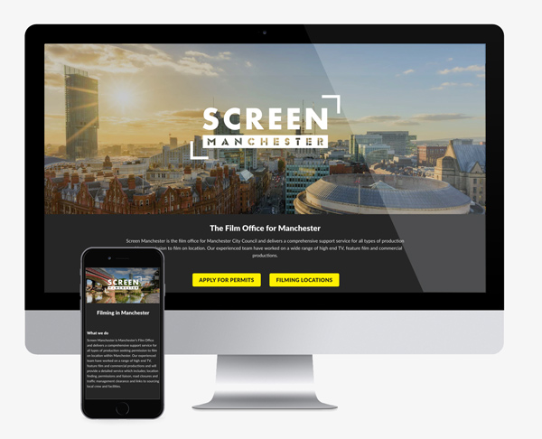 web design for screen manchester