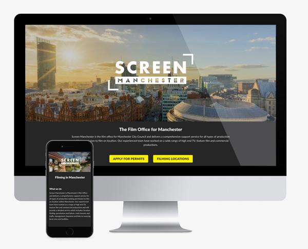 web design for screen manchester
